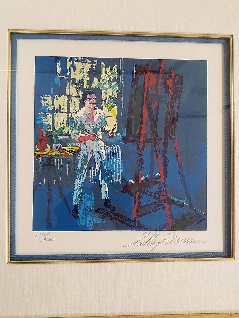 Grouping of Leroy Neiman Serigraph and book Signed - 9