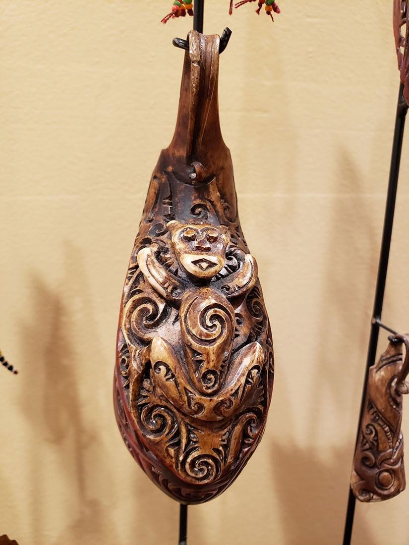 10 rare headhunter earrings Dayak tribe of  Borneo - 3