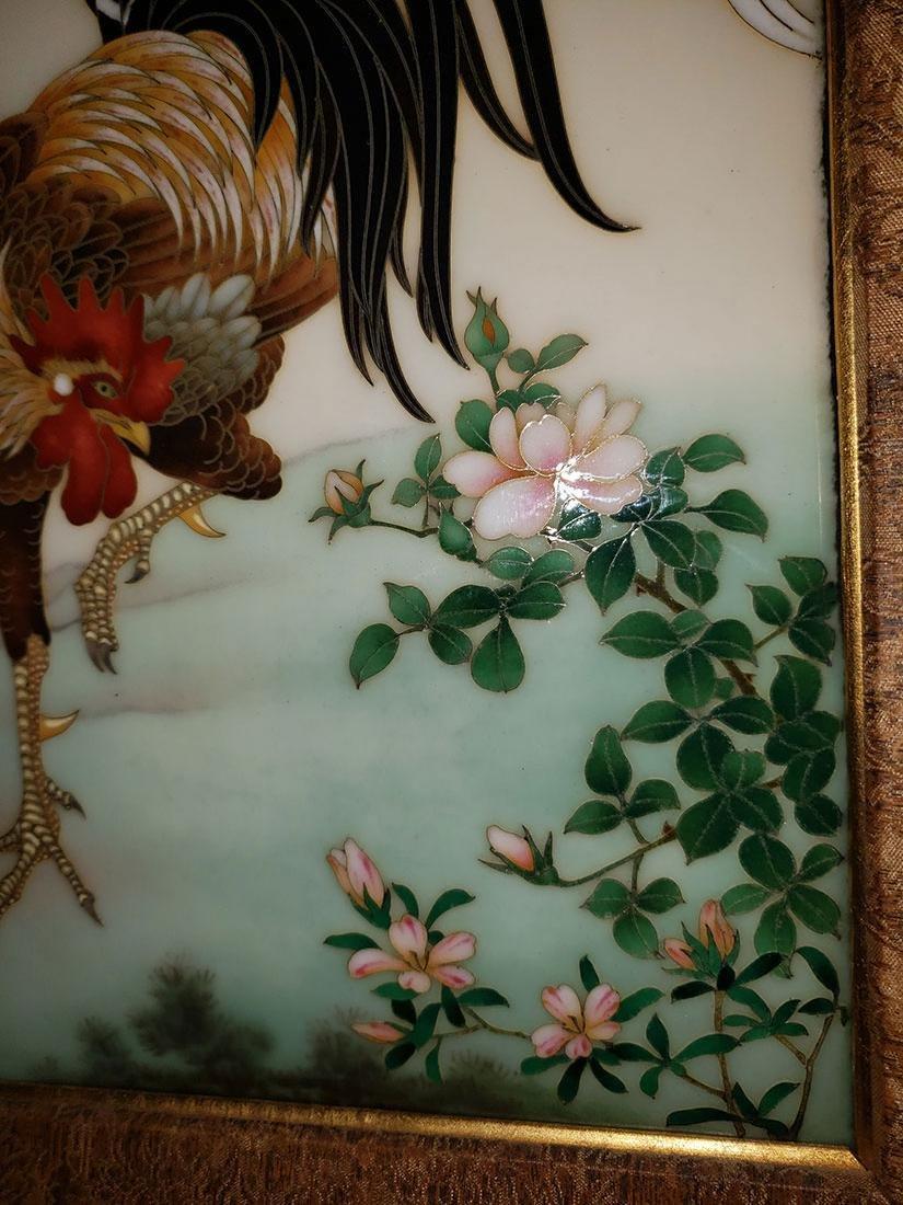 A Magnificent Japanese Cloisonne-Enameled Cockerel - 5