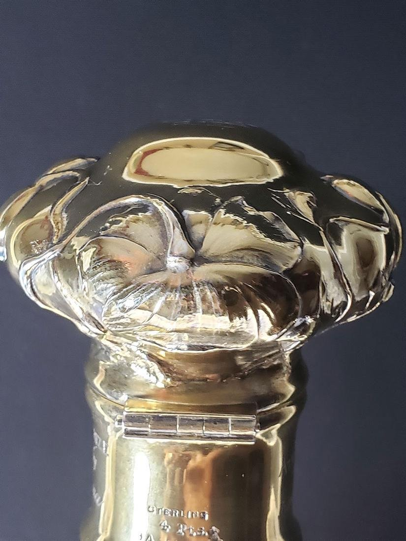 Rare ABP engraved  rock  crystal Yacht Club Trophy - 10