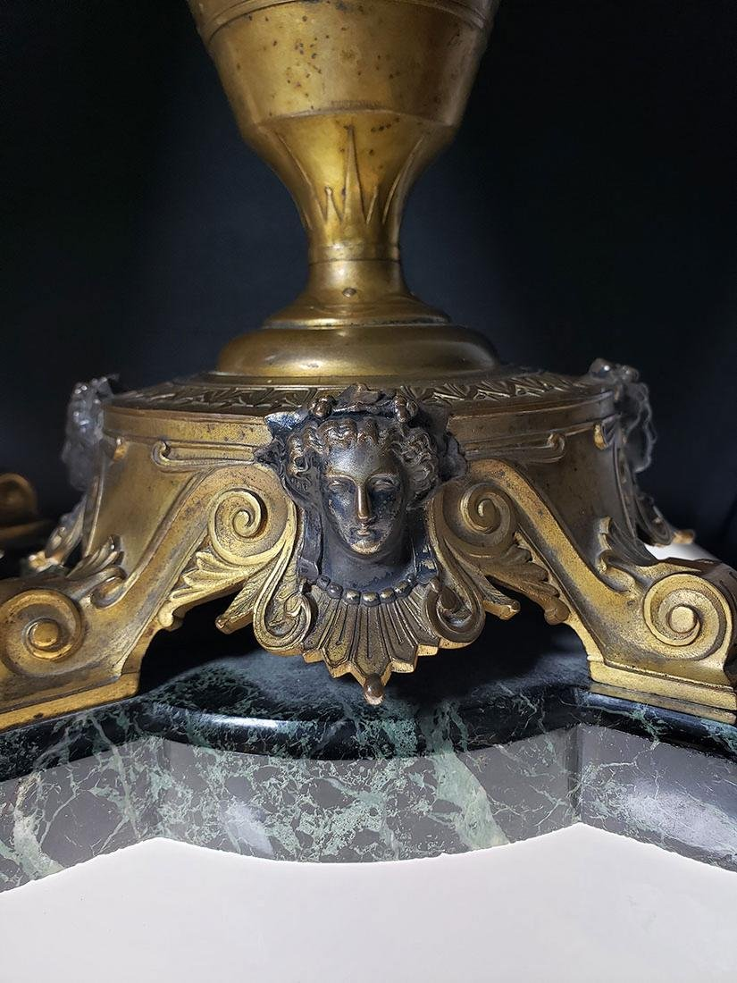 French Neo-Grec Barbedienne Urns signed H. Cahieux - 8