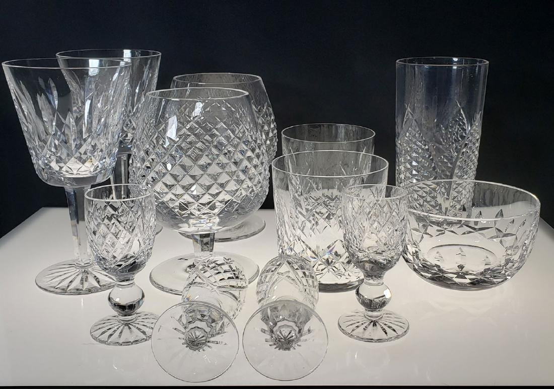 Lot of 12 Waterford Crystal Glasses