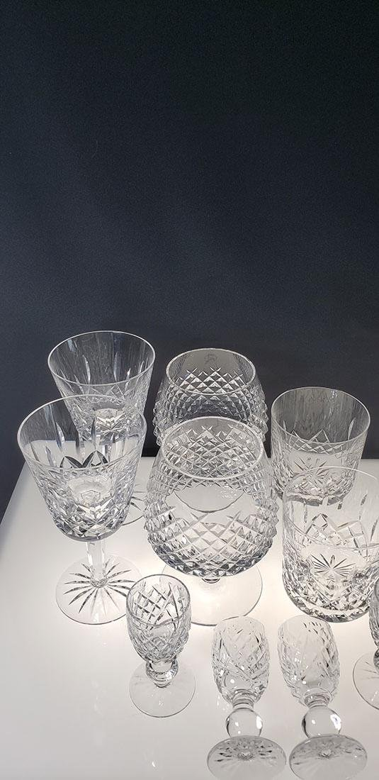 Lot of 12 Waterford Crystal Glasses - 2