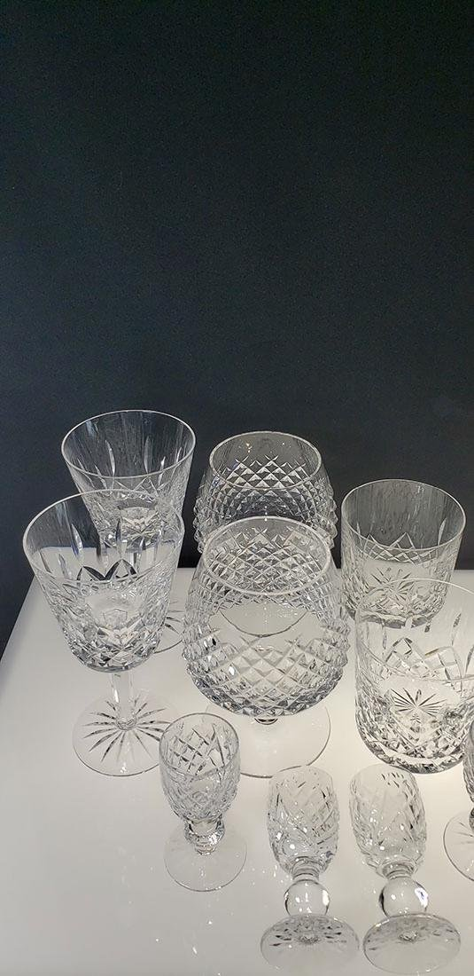 Lot of 12 Waterford Crystal Glasses - 3
