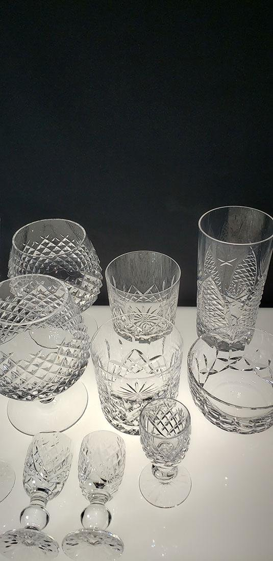 Lot of 12 Waterford Crystal Glasses - 4