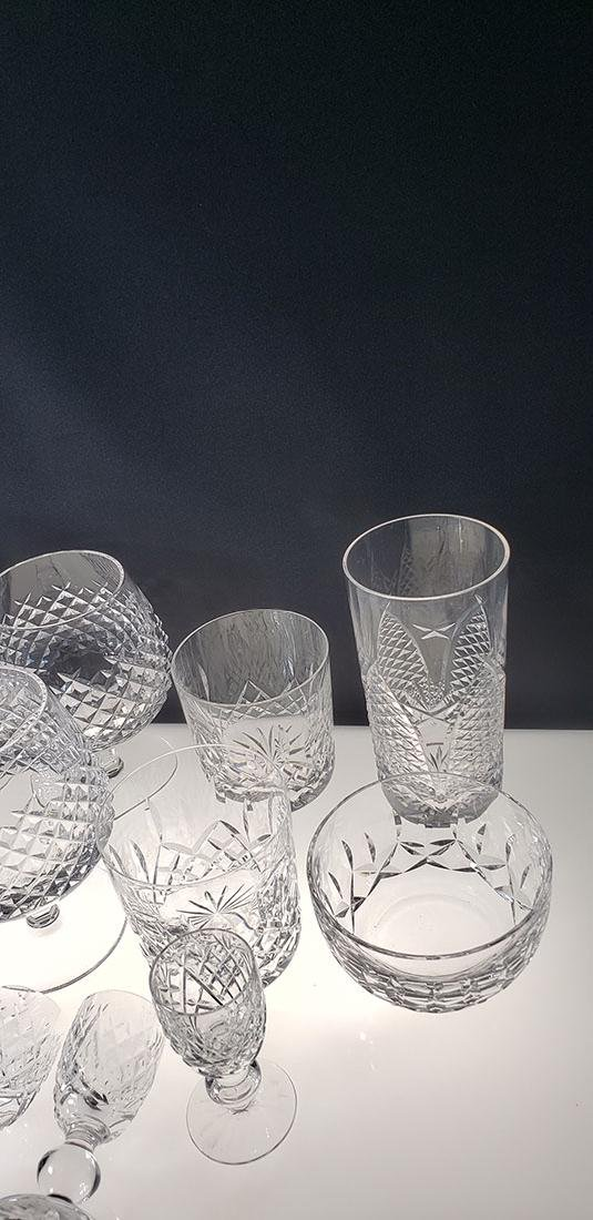 Lot of 12 Waterford Crystal Glasses - 5