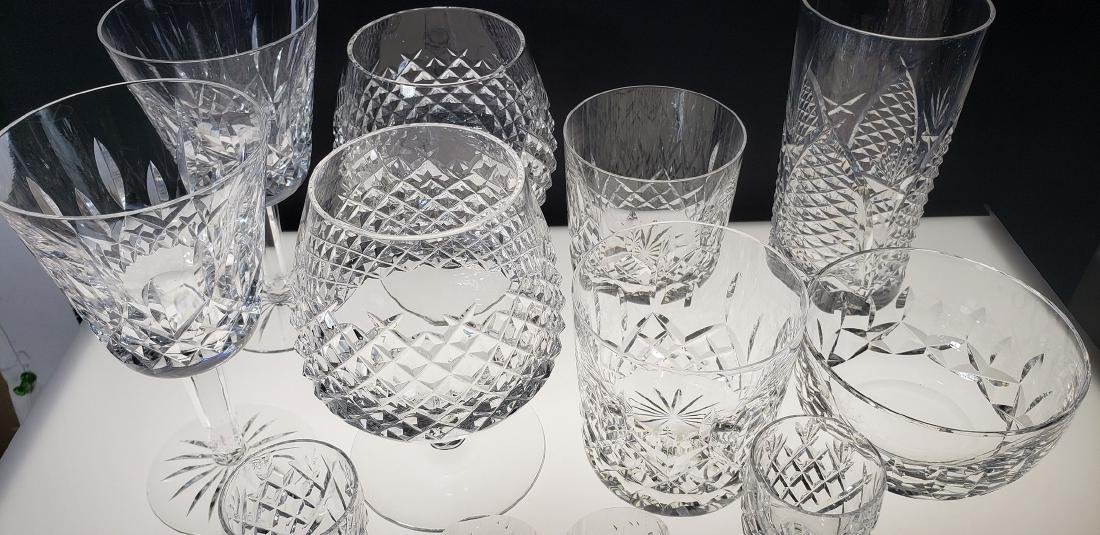 Lot of 12 Waterford Crystal Glasses - 6