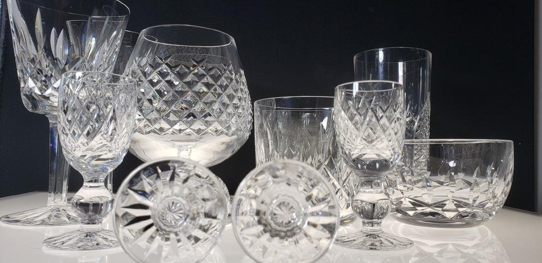 Lot of 12 Waterford Crystal Glasses - 7
