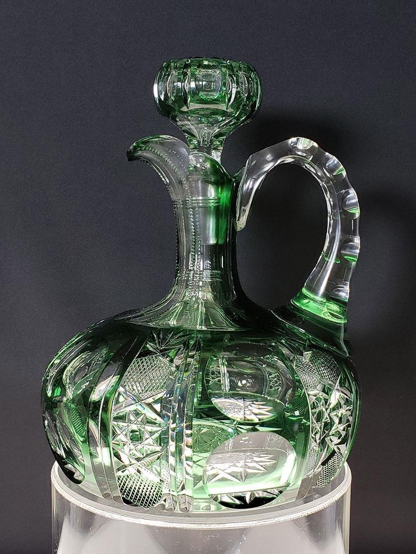 American brilliant Pd Dorflinger cut glass decanter