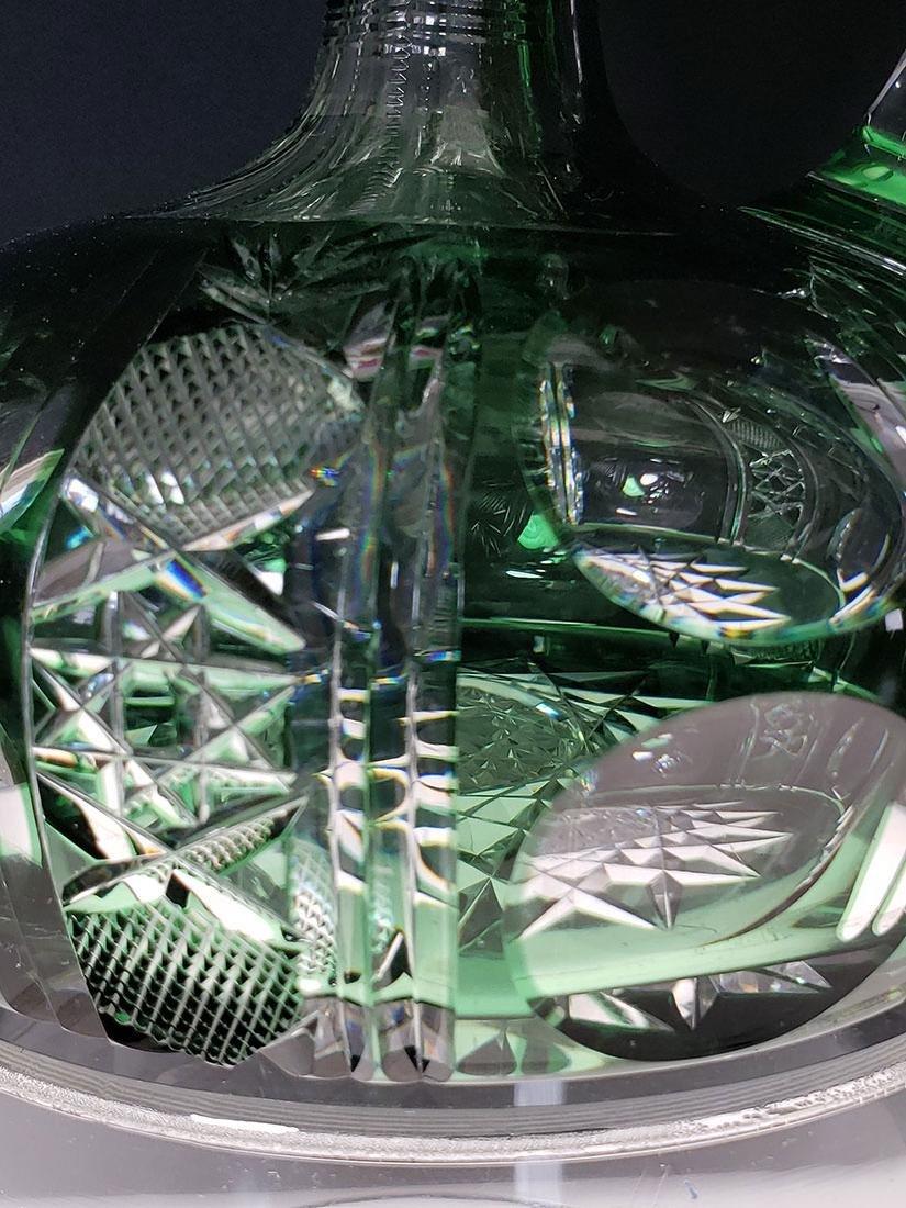 American brilliant Pd Dorflinger cut glass decanter - 3