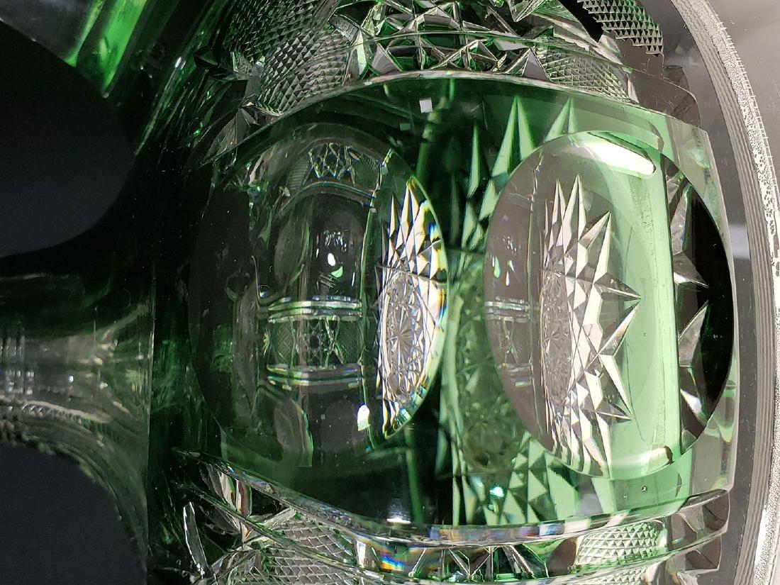 American brilliant Pd Dorflinger cut glass decanter - 4
