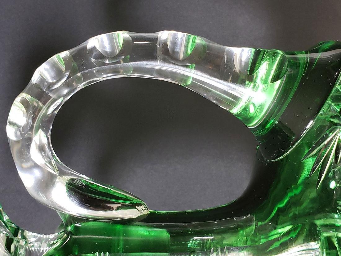 American brilliant Pd Dorflinger cut glass decanter - 6