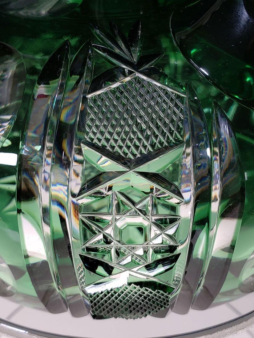 American brilliant Pd Dorflinger cut glass decanter - 8