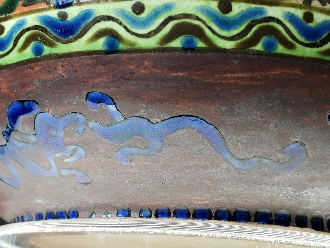 Signed Japanese vase Imperial Meiji artist Kinkozan 19c - 7