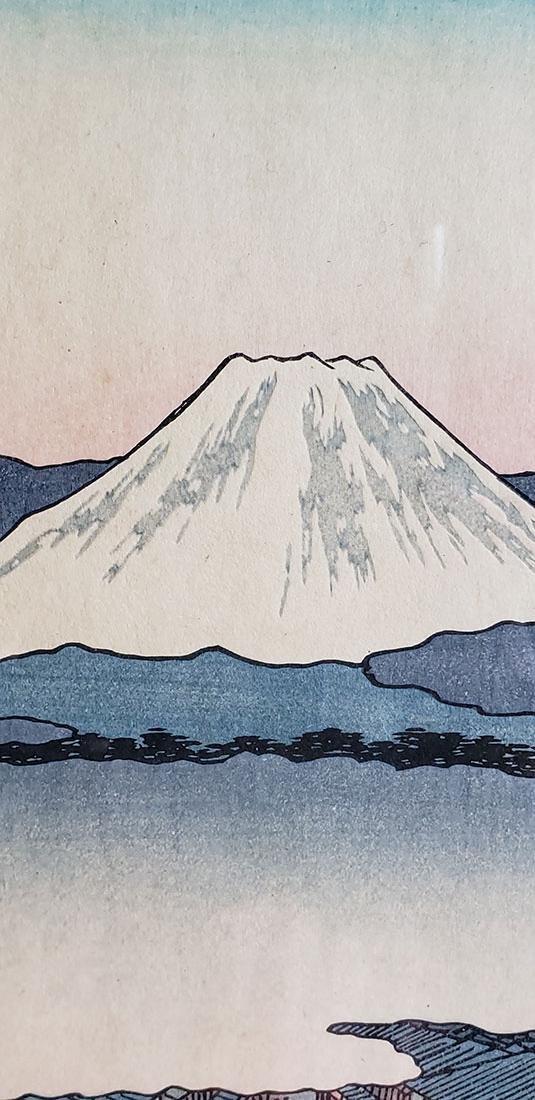 Fine Woodblock by Ando Hiroshige (Japanese, 1797-1858) - 8