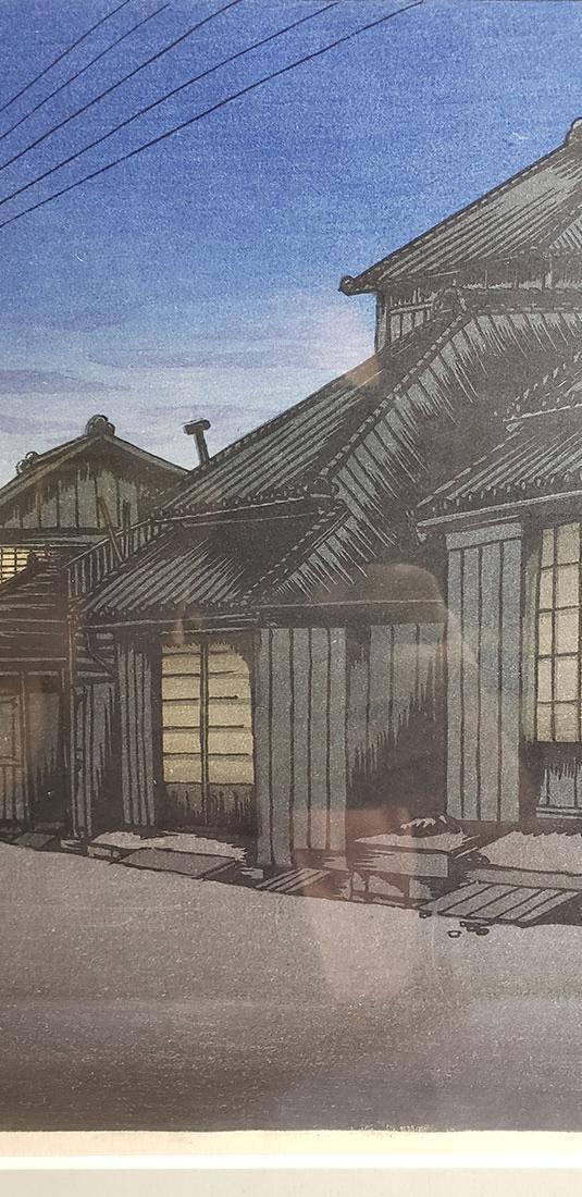 ISHIWATA, KOITSU  woodblock print (1897-1987) - 4