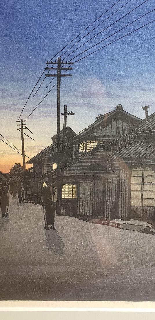 ISHIWATA, KOITSU  woodblock print (1897-1987) - 5