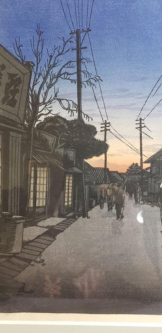 ISHIWATA, KOITSU  woodblock print (1897-1987) - 6
