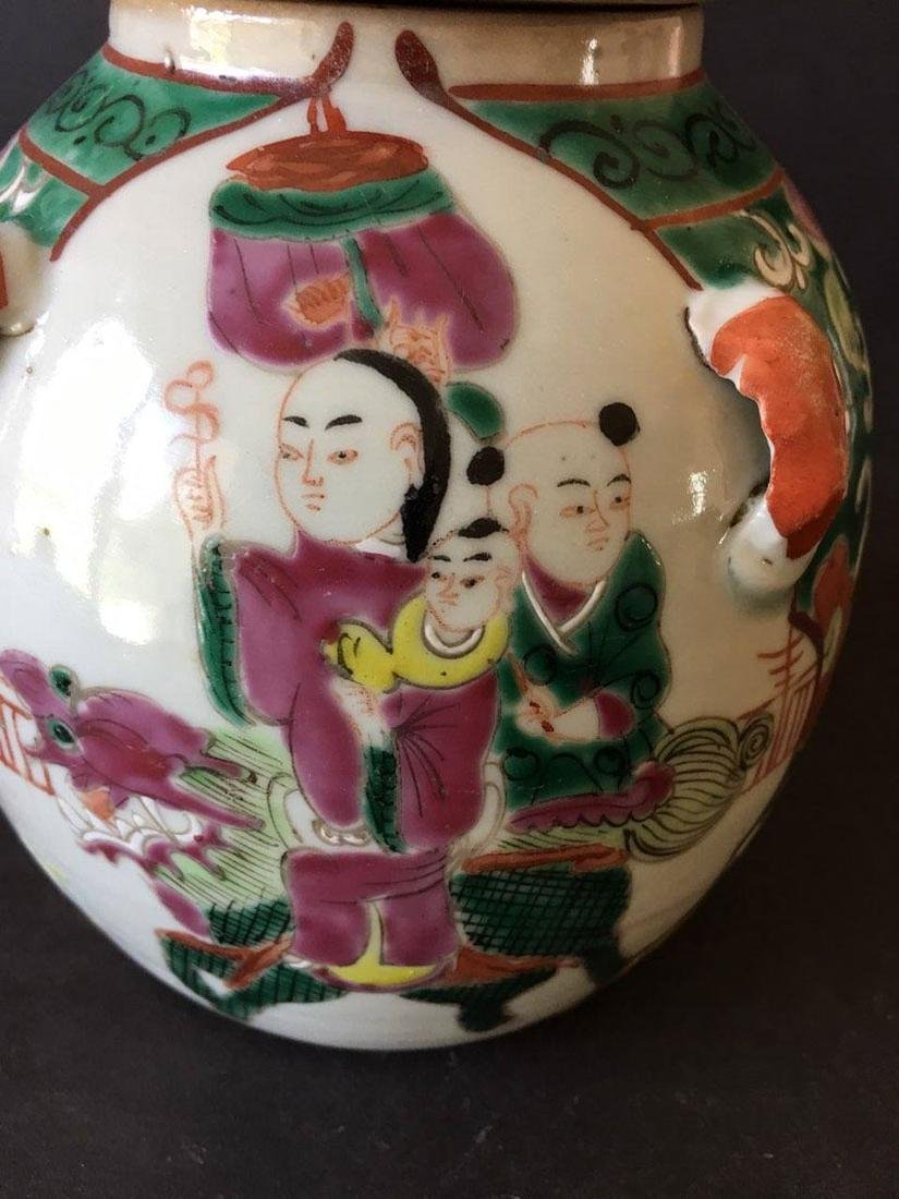 Chinese porcelain teapot - 2