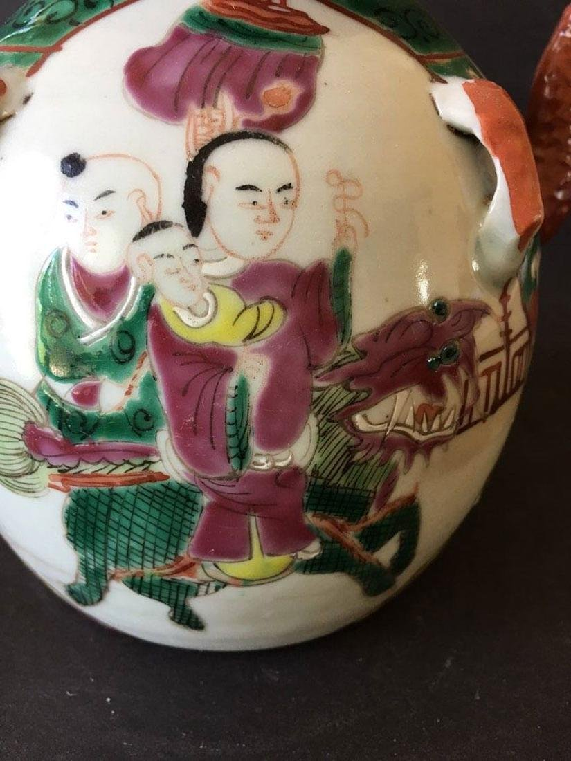 Chinese porcelain teapot - 4