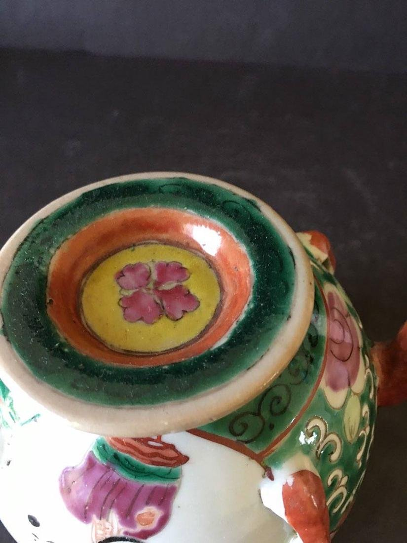 Chinese porcelain teapot - 5
