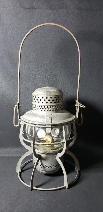 Antique 1925 Armspear Railroad Lantern NYC
