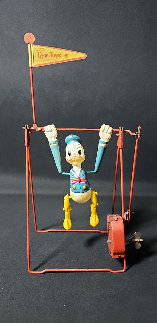 Old Marx Walt Disney Donald Duck Swing Toy