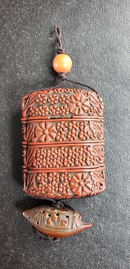 """Fine Antique Japanese """"Inro"""" Meiji Period"""