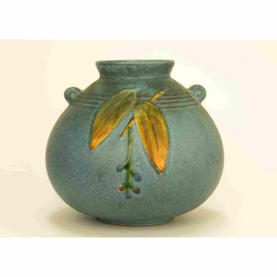 Antique Weller Pottery Cornish Vase