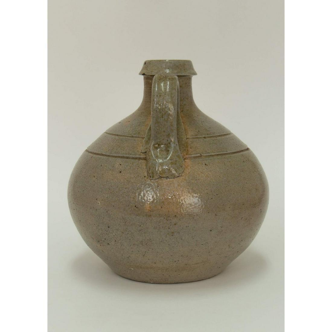 Pint Sized Jugtown NC Salt Glaze Stoneware Jug