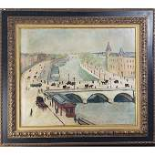 Signed O/C Albert Marquet (1875 - 1947) Painting St M