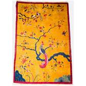 Art Deco Chinese Nichols Phoenix Rug