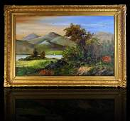 19th Century Hudson River School American Oil Painting