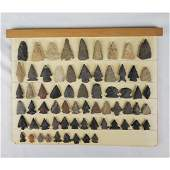 Native American Artifact Arrowhead Points 66 Pcs