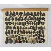 Native American Artifact Arrowhead Points 122 Pcs