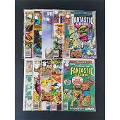 Lot of 10 Marvel Comics Fantastic Four