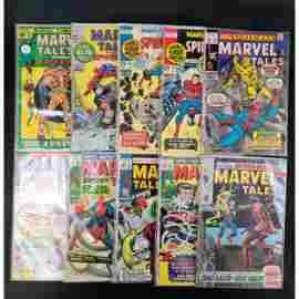 Lot Of 10 Vintage Marvel Comics Marvel Tales 25 Cent