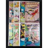 Lot Of 8 Vintage DC Comic Books 10 Cents