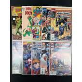 Lot Of 10 Vintage Marvel/DC/Dell Comics Assorted
