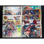 lot of 10 DC/Marvel comics Assorted Beowulf/Captain Ame