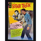 Gold Key Star Trek Comic Book 12 Cents 1968
