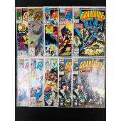 Lot Of 10 Vintage Marvel Comics Guardians Of The Galaxy
