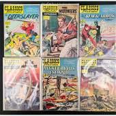 6 CLASSICS ILLUSTRATED Comic Books 15 CENTS
