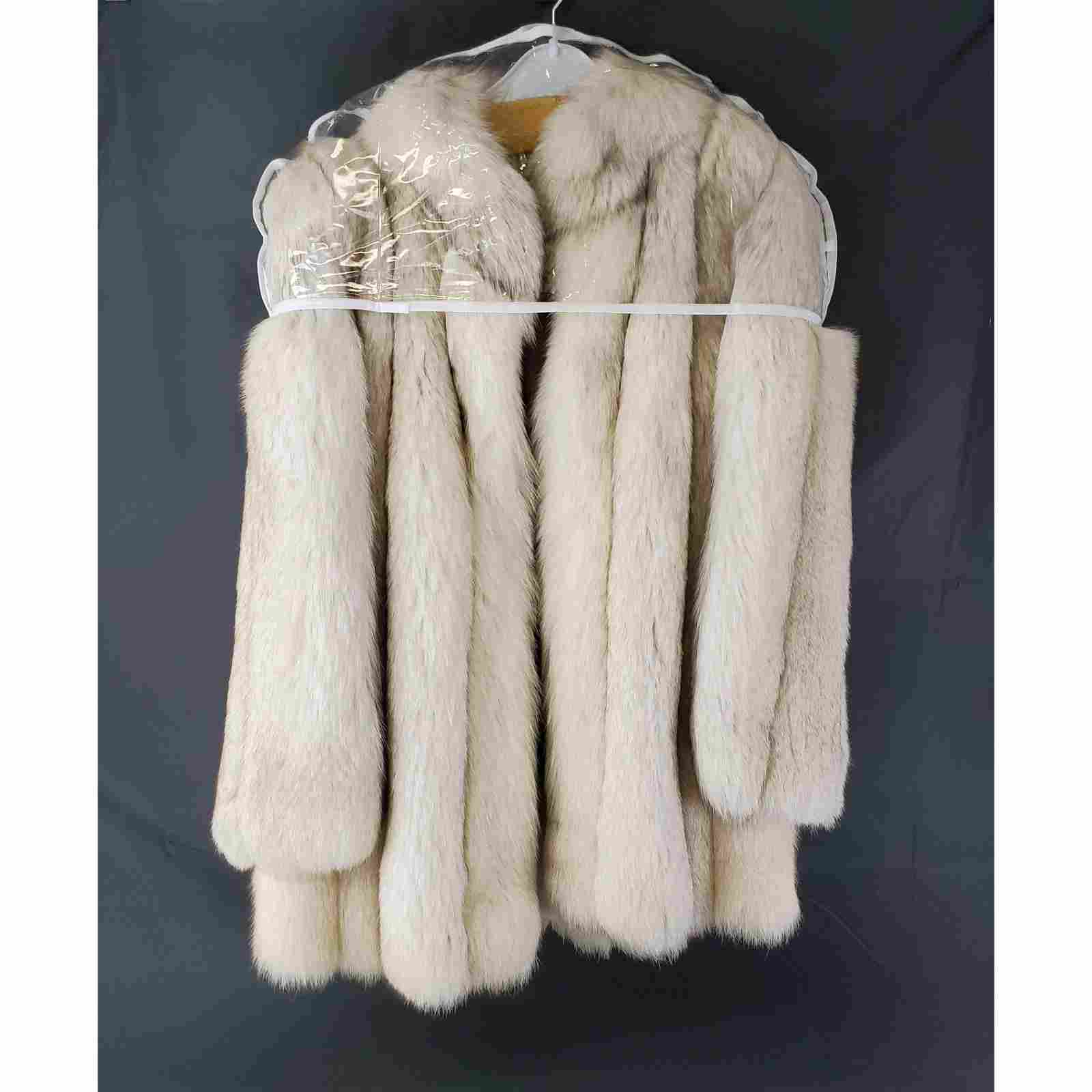 A fine White Fox Mink Jacket