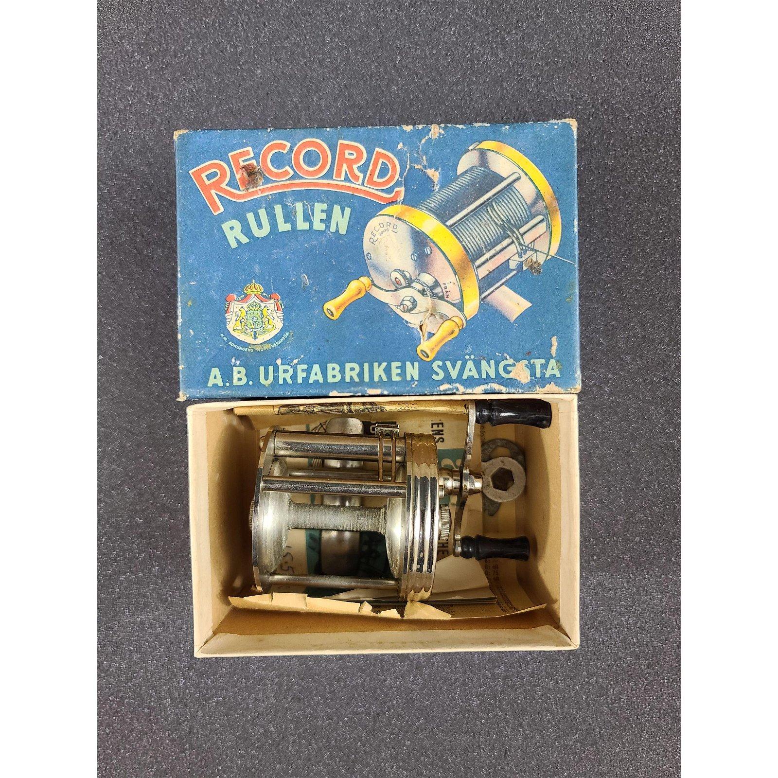 Vintage Fishing Reel Record NO 1550 Model C