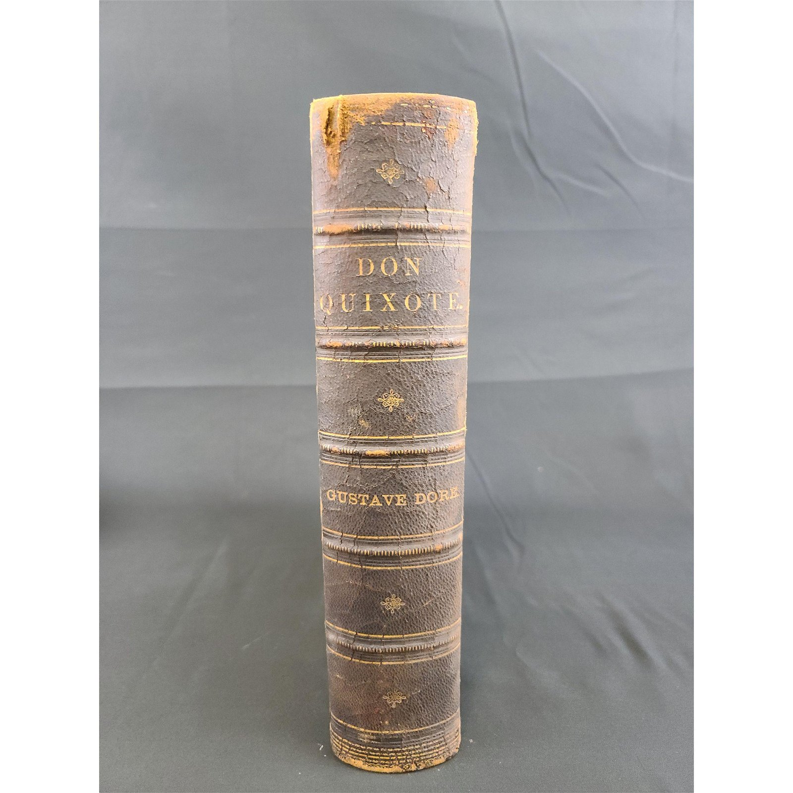 "Antique Book 19th C 'The History of Don Quixote"""