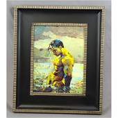 Male Nude Oil On Canvas Painting 3