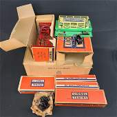 7 Vintage Lionel Train And Cars With Boxes Gently Used