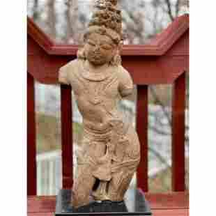 Gupta Period 9th C Sandstone Dancing Shiva 1200 Yrs Old
