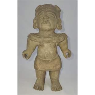 Pre Colombian Pottery Figure